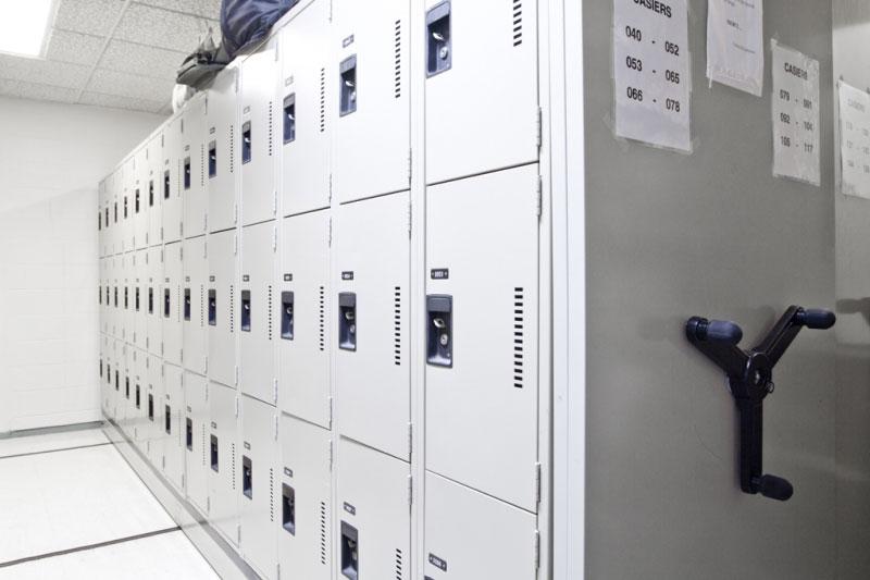 Montel lockers at correctional facility