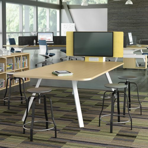 Collaboration Space in a Government Library using Watson Furniture
