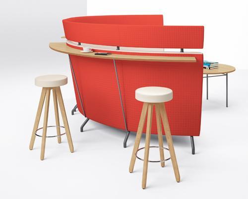Arcadia Intima Lounge Lobby Seating Guest Modular speakeasy stools