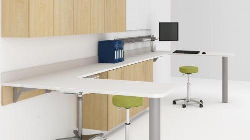 neocase healthcare modular casework group lacasse exam patient room doctor