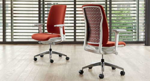 Teknion Around Chair, task chair, upholstered task chair