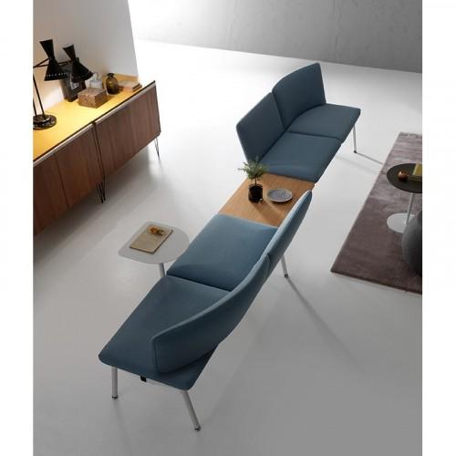 Beaufurn Niko Modular Bench, lobby, waiting room, lounge, seating
