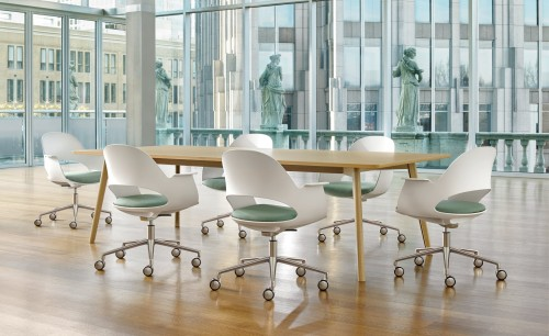 Bernhardt Lava, conference, task seating, chair, table