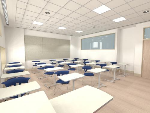 Ruckus KI Classroom Education collaboration learning spaces movement k12 higher education highered seating chairs desks table student