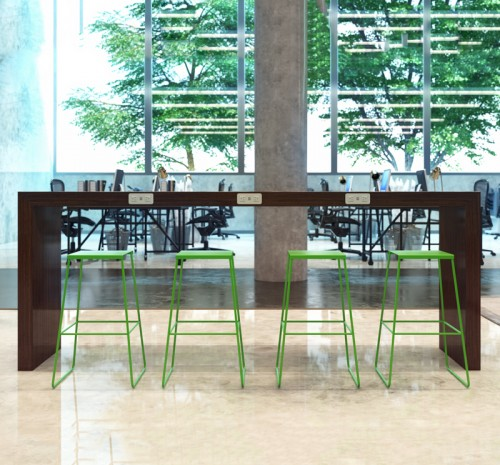 Coriander Isaak Collaboration Table, meeting, casual conference, open office, corporate