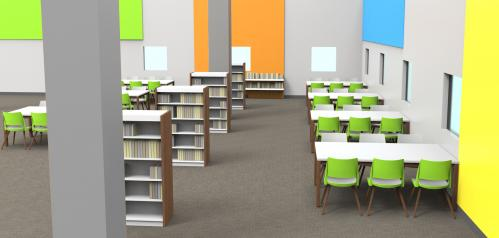 KI Doni Classroom Student Higher Ed Education K12 Learning Seating Chair Guest Side Library