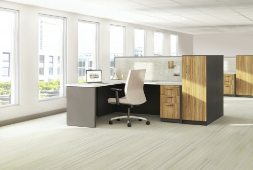 Great Openings Trace Office, open office, private office, desking, benching, storage, corporate