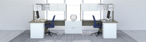 Group Lacasse C.A. desking, benching, office, corporate