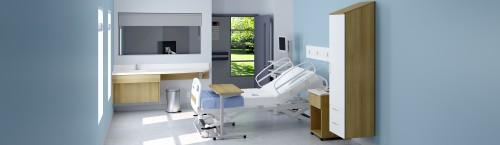 Group Lacasse Harmonia Healthcare, patient room