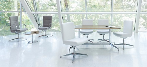Gunlocke Avoca Guest chair, seating, side chair, conference chair