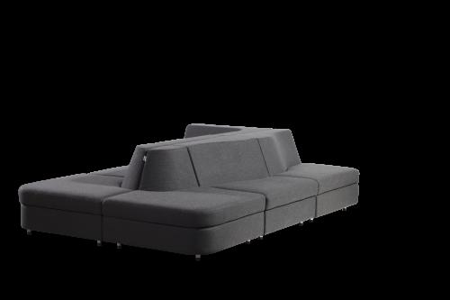 sixinch Island lounge seating, sofa, lobby, public