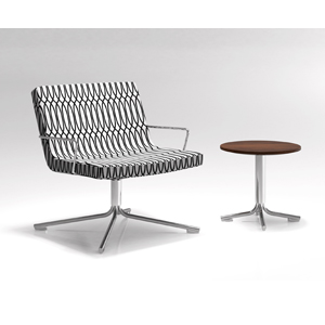 Krug Avatar lounge chair, seating, upholstered, corporate, business