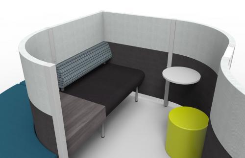 KI MyPlace Lounge Modular Collaboration Collaborative Seating Soft Seating