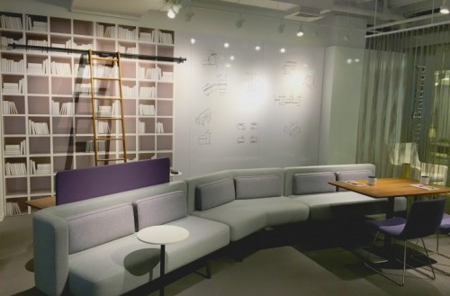Martin Brattrud Medinah lounge seating, sofa, modular, upholstered, corporate
