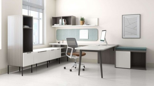 OFS Staks, Flexxy, private office, corporate, business, storage, desk, task chair