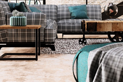 Pallas Loft collection, upholstery, fabric, textile, lounge seating, sherlock