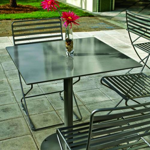 Landscape Forms Outdoor Furniture Seating Tables Parc