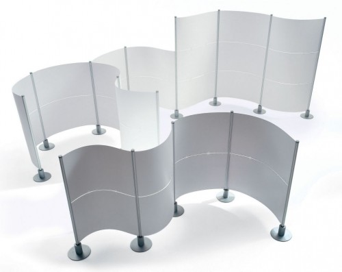 Peter Pepper slalom partition, divider, wall