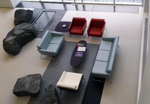 Pocono KI Lyra Lounge Waiting Room Reception Business Healthcare