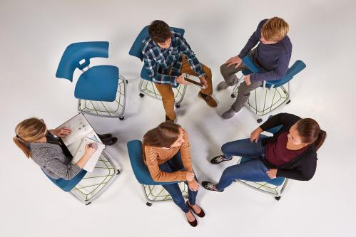 Ruckus KI Classroom Education collaboration learning spaces movement k12 higher education highered student  seating chairs