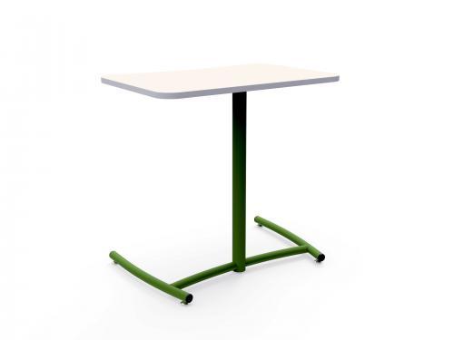 KI Ruckus Higher Education K12 Classroom Worktable Table Pull Up Side  desk