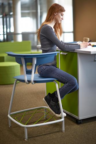 Ruckus KI Classroom Education collaboration learning spaces movement k12 higher education highered student storage work table stool seating chairs