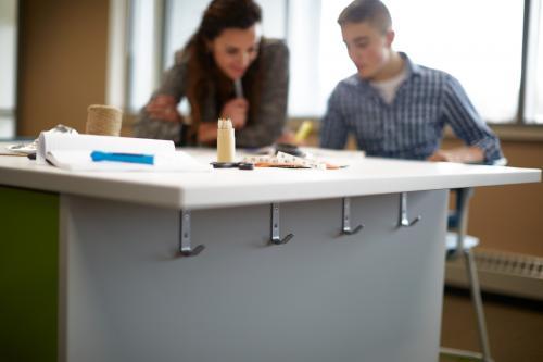 KI Ruckus Higher Education K12 Classroom Storage Worktable