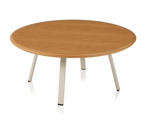 Soltice Metal Round Coffee Table Solid Surface occasional end cocktail KI