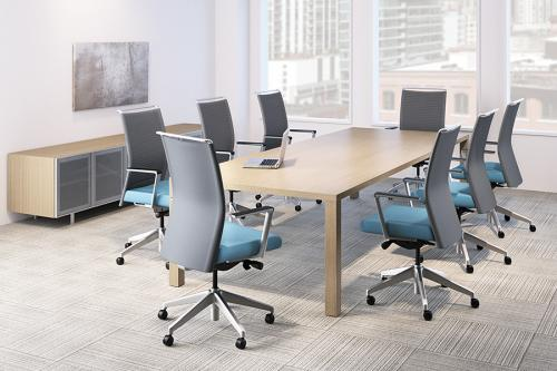 Sit On It Task Chair Seating Conference Mesh Back Office Sona Knit Back