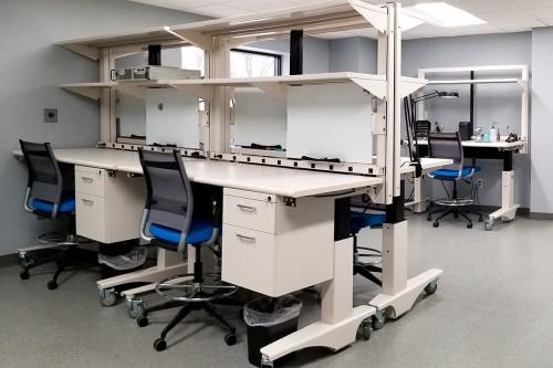 Symbiote ergostat workbench, lab