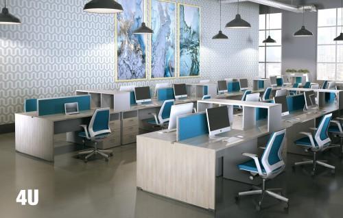 VIA 4U seating, task chair, open office, mesh