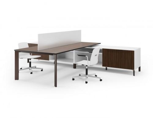 Versteel Eliga benching, open office, corporate, desking