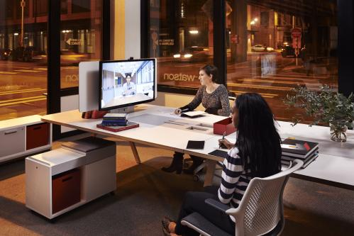 Watson Tonic Table Office Conference Business Meeting Collaboration Furniture