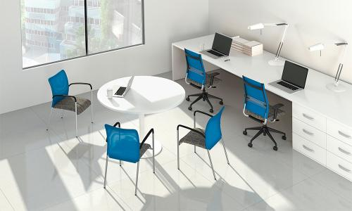 Sit On It Task Chair Seating Conference Office Mesh Back Wit