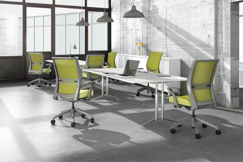 Sit On It Task Chair Seating Conference Mesh Back Office Amplify