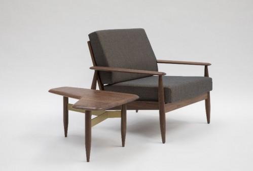 BuzziSpace BuzziNordic chair, occasional table, lounge, wood, seating, Buzzi