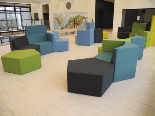 Howe Manhattan Modular Lounge, seating, soft seating,