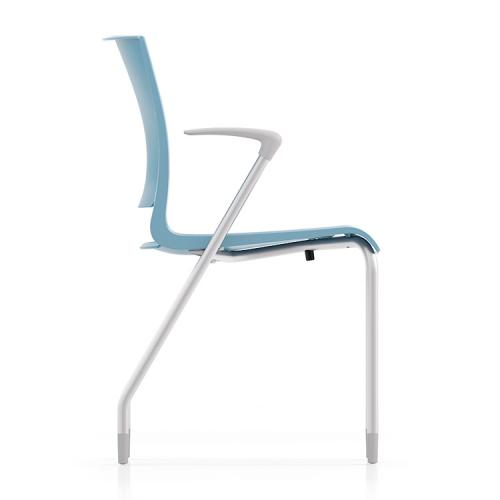 Sit On It Side Chair Seating Guest Waiting Room Conference Poly Rio