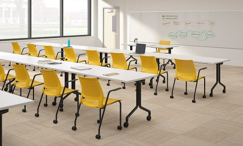 sitonit lumin multipurpose chair, training, higher education, corporate